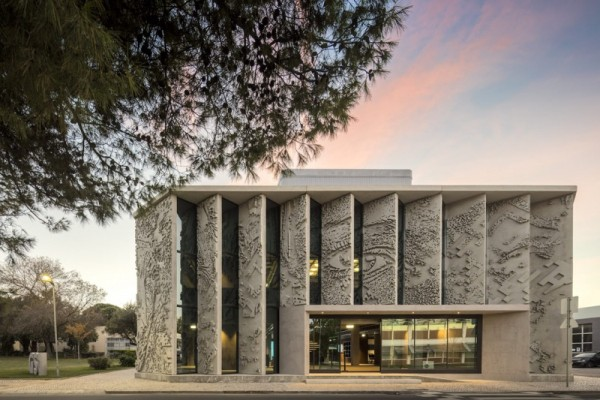 Vhils x GS1 Portugal   Center for Innovation and Competitiveness (Lisbon) « Arrested Motion