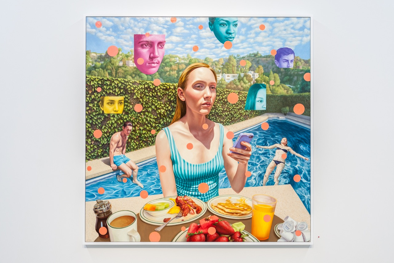 """Showing: Alex Gross – """"Antisocial Network"""" @ Corey Helford Gallery"""
