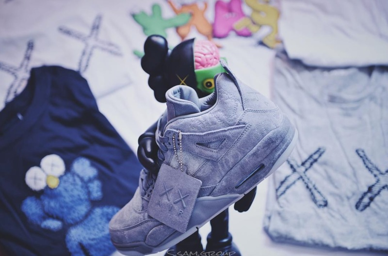 Releases Kaws X Air Jordan 4 171 Arrested Motion