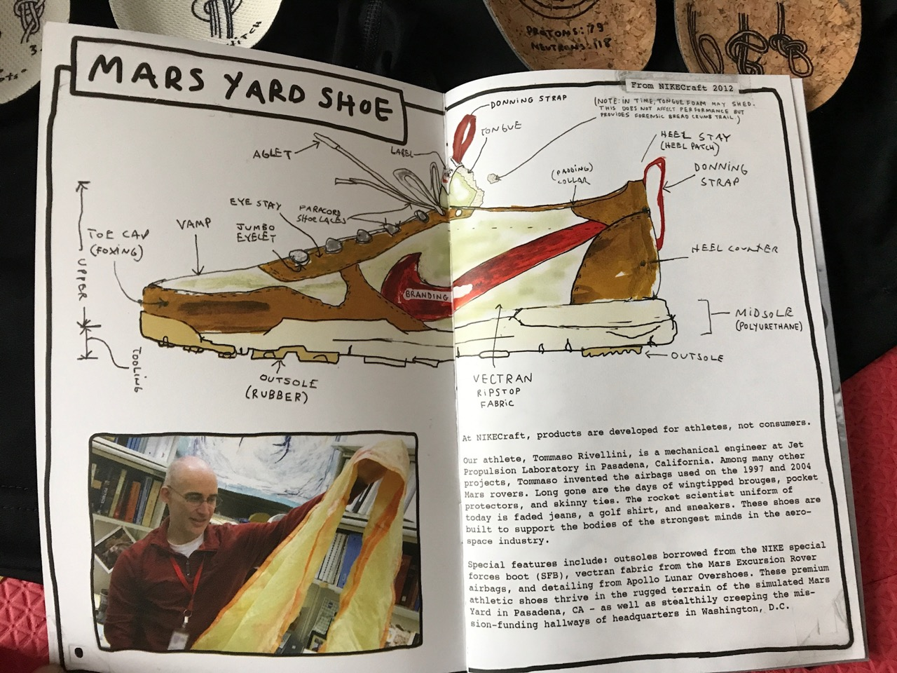 Tom Sachs Nike Nikecraft space camp AM - 1