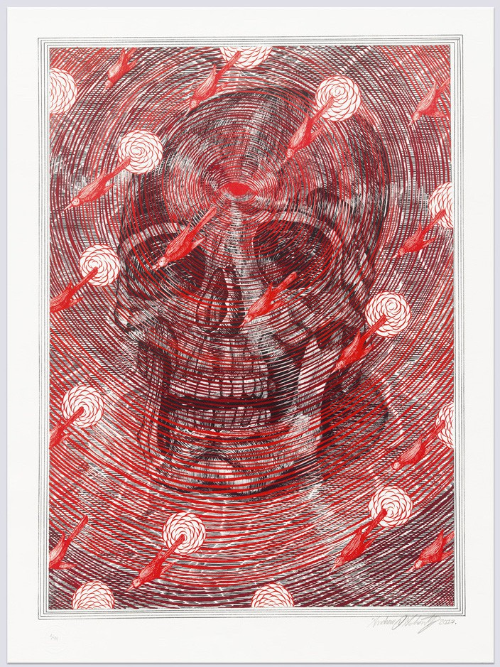 life-and-death-lithograph-andrew-schoultz-artprinting-print-them-all-contemporary-art