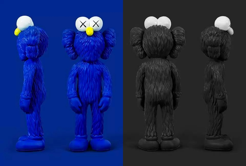 Releases Kaws Bff Vinyl Figures 171 Arrested Motion