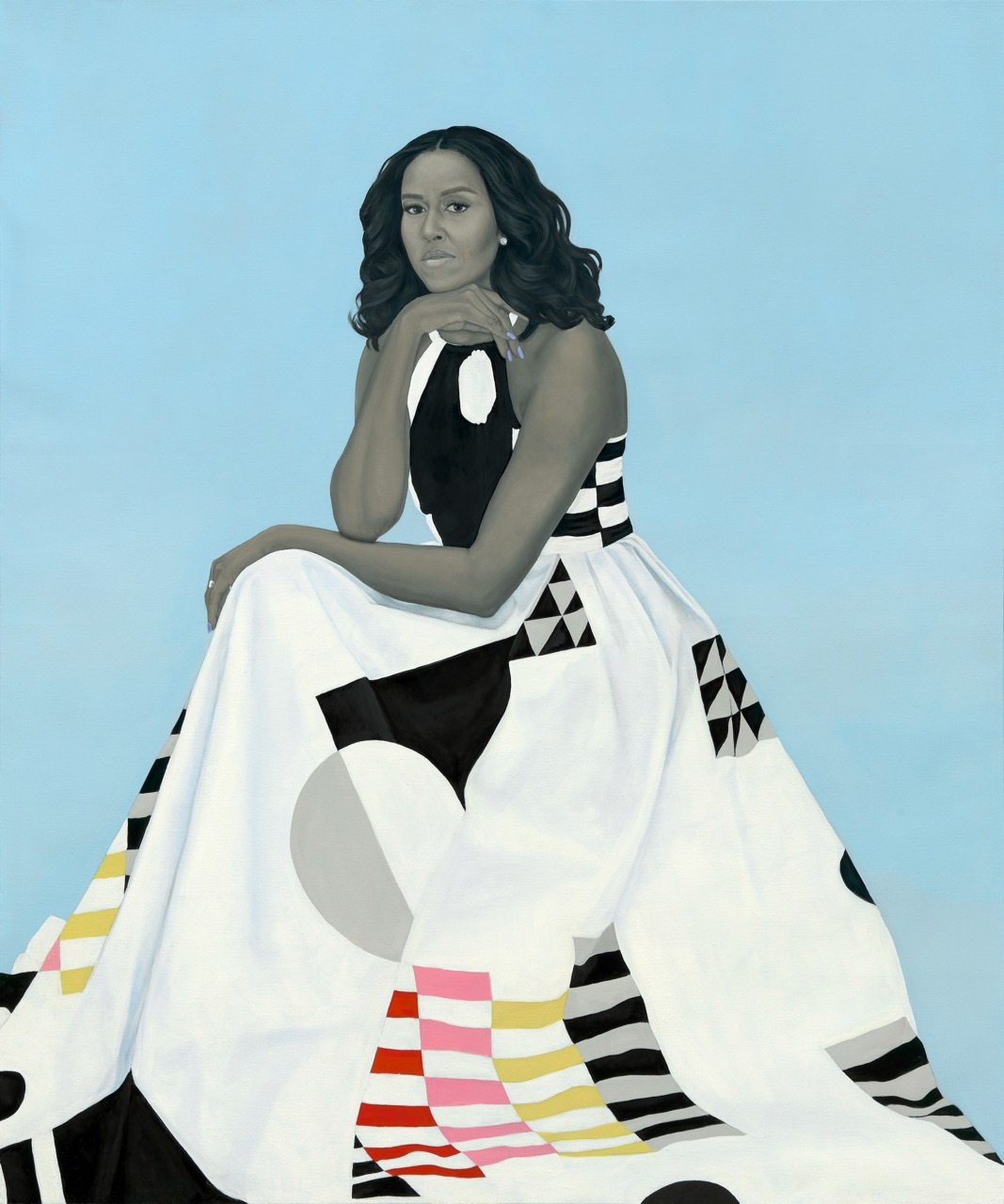 StFelix-Amy-Sherald-Portrait-Michelle-Obama (1)