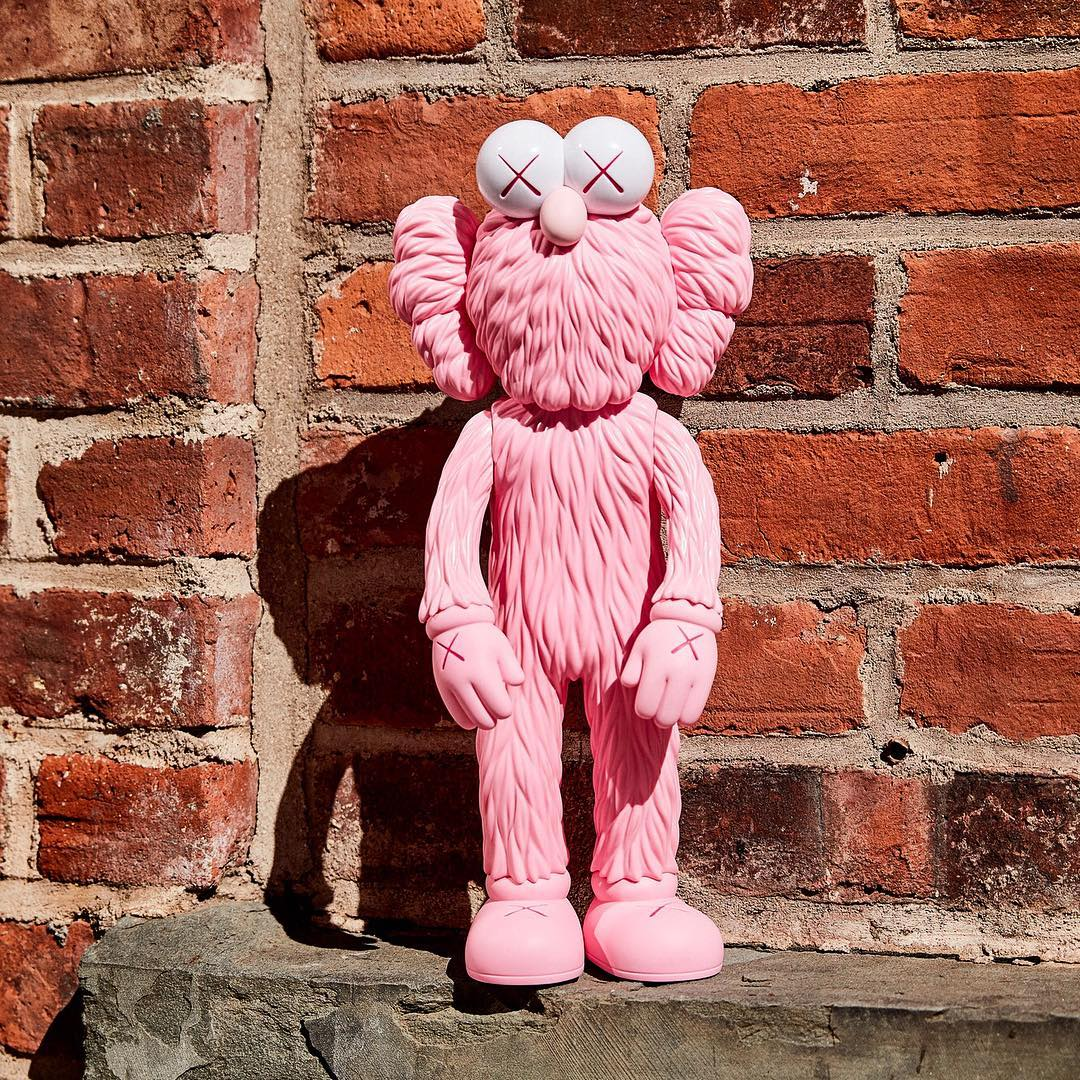 Releases Kaws Bff Pink Figure 171 Arrested Motion