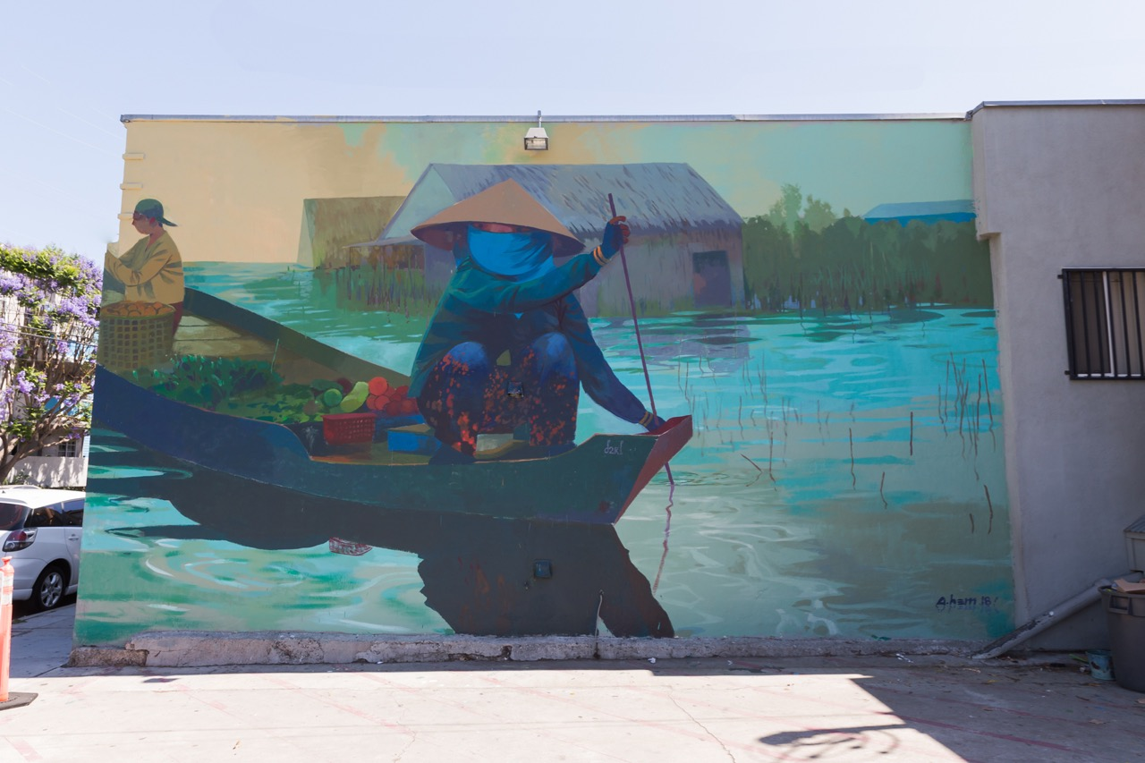 cde97d44daede Long Beach finished up the public art for 2018 at the end of last month  with another series of great murals and installations for fans of art in  the ...