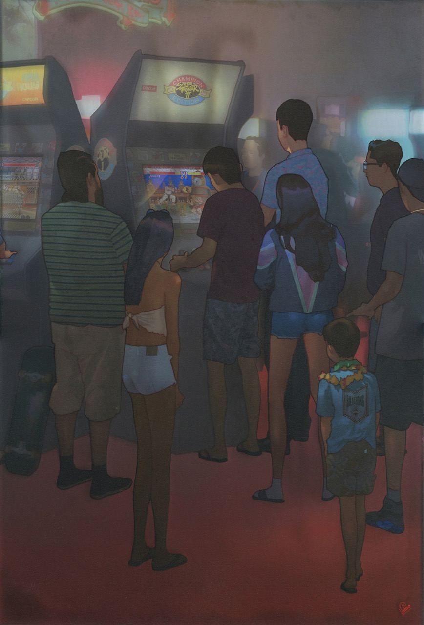 EDWIN USHIRO Facing Something Not There Any More (2018)