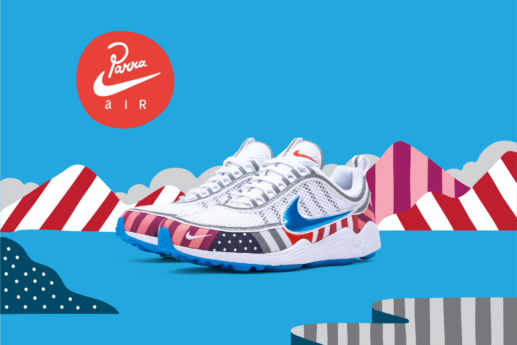 new concept 1726c 44d38 Releases: Parra x Nike Air Max 1 & Zoom Spiridon Collection ...