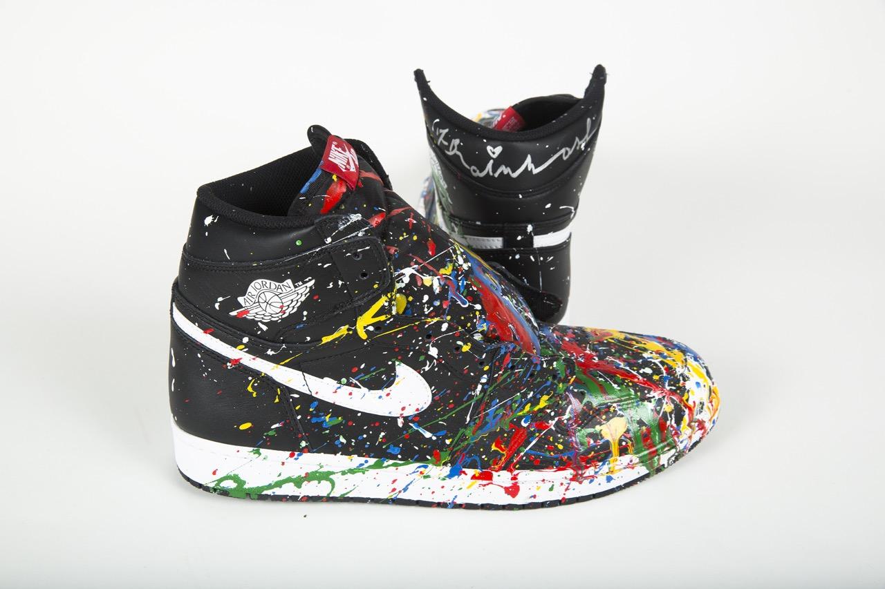 Project Blitz DJ AM Mr Brainwash Nike AM - 17