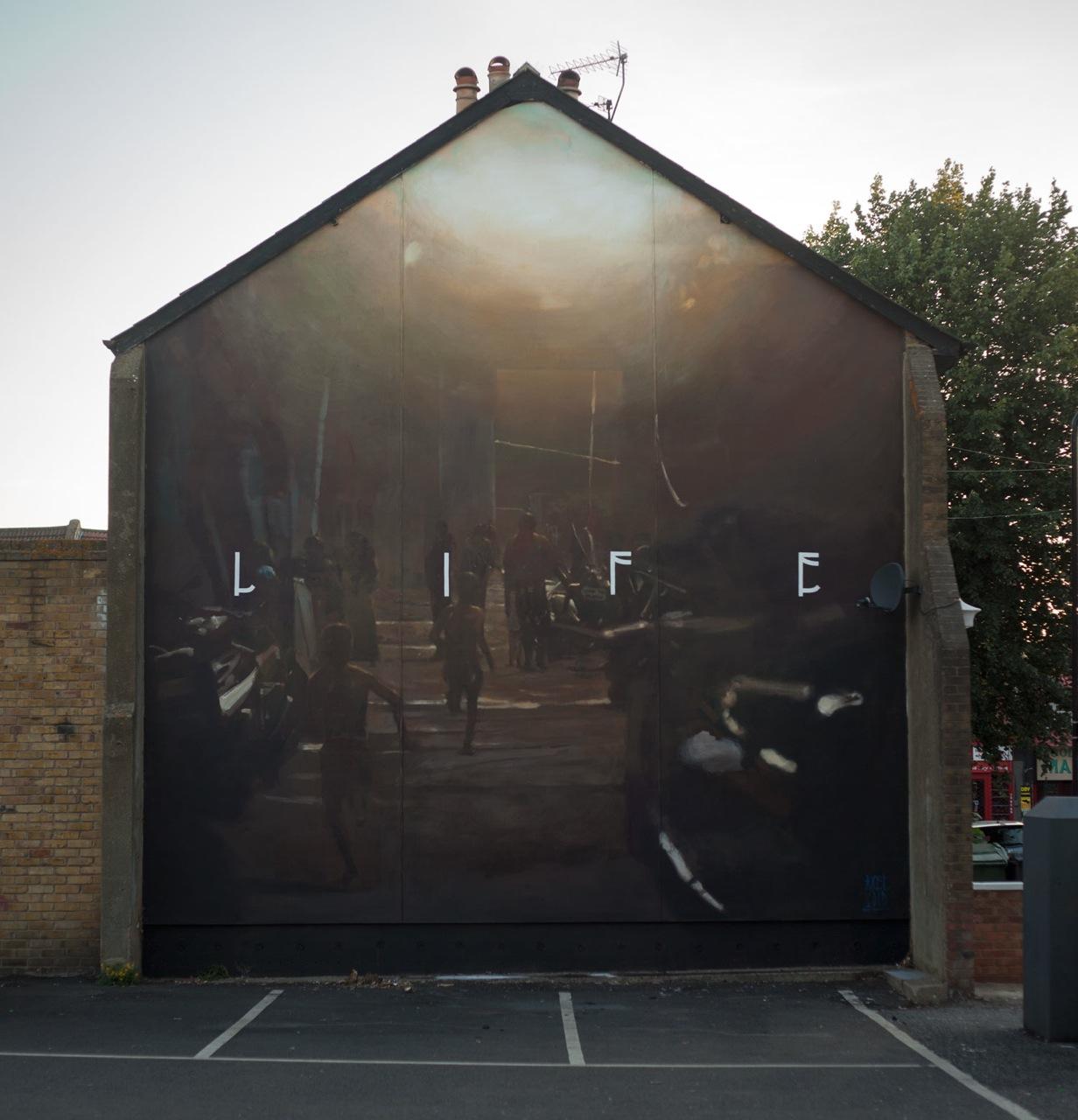 Axel Void_ Life, London, 2016
