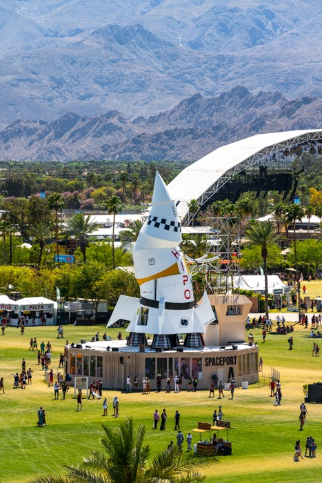 Coachella Artist Installations Press Release
