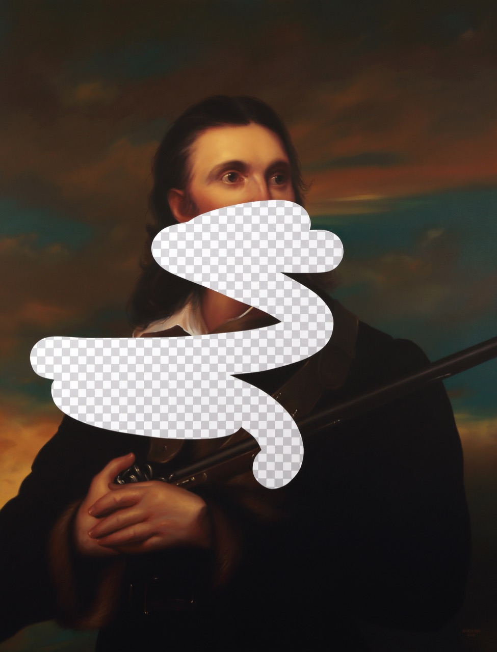 09_Two Birds, Seven Stones (John James Audubon, White House Art Collection Erasure No. 25) (1)