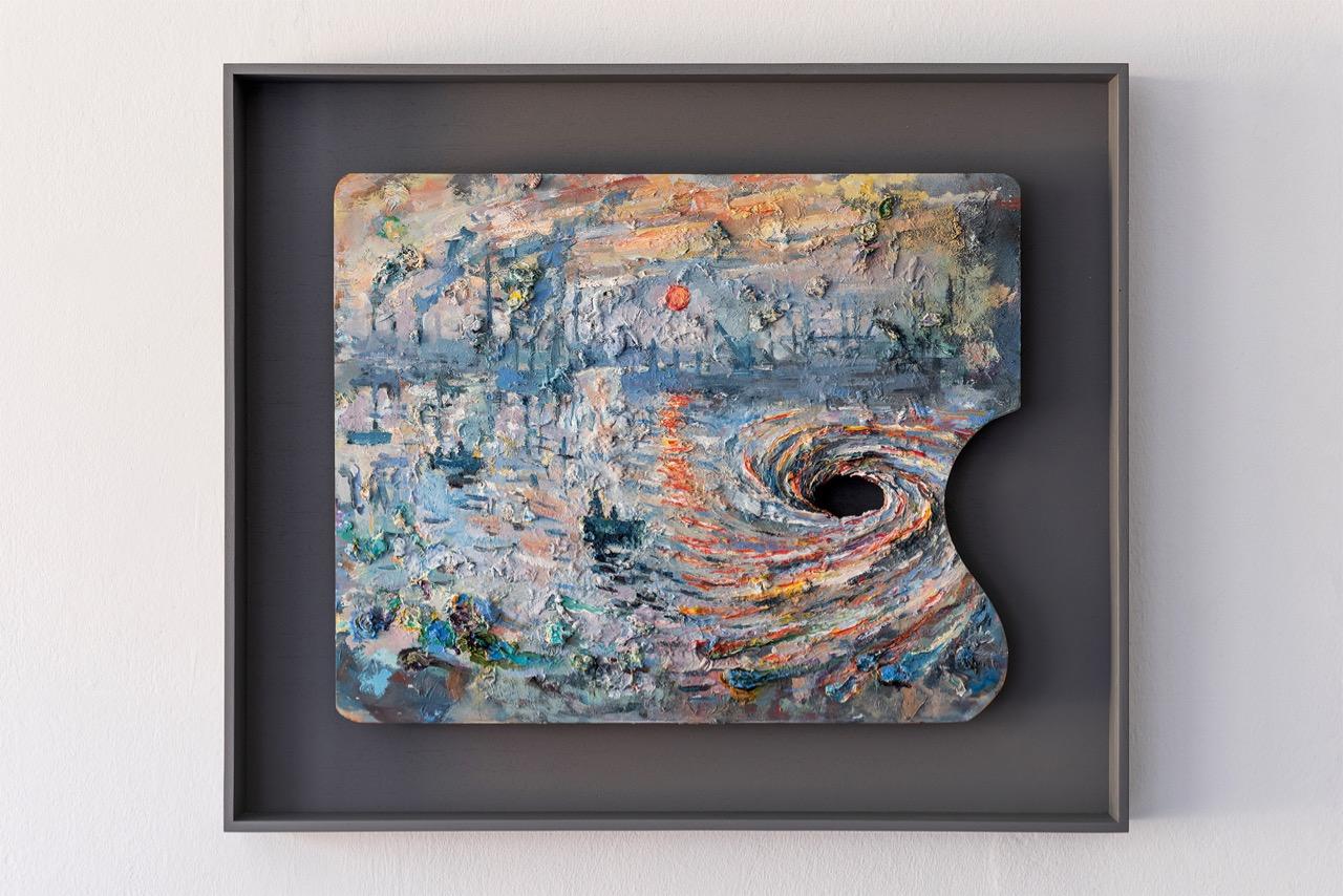 Drain-I-Oil-on-artists-pallet-50-x-40-x-04-cm-2021-1