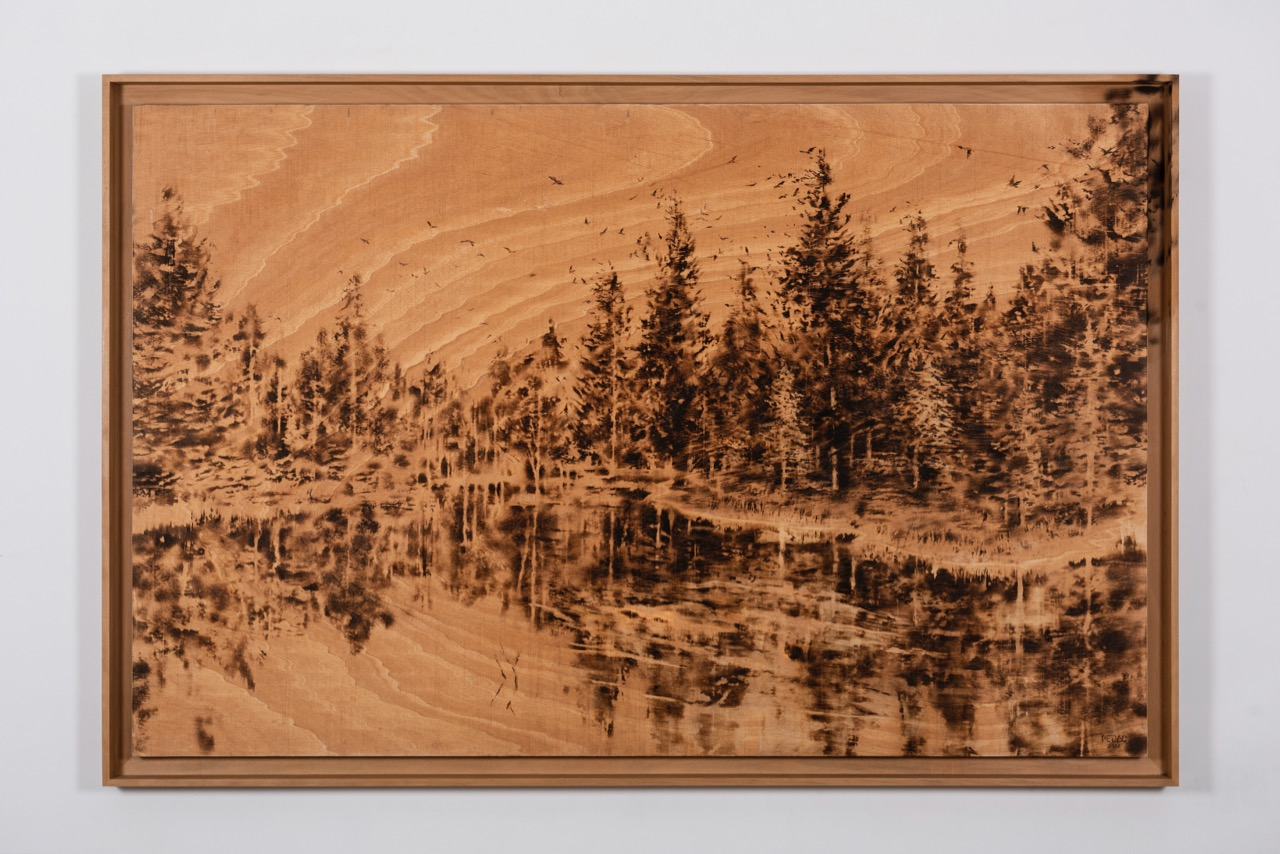 Flying-Ashes-II_1895-x-1218-x-38-cm_Pyrography-and-colour-pencil-on-wood_2021-1
